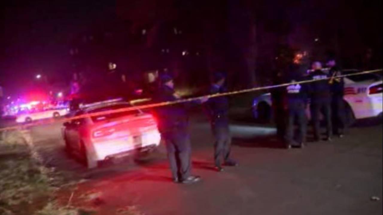 Police near scene of Wayne State University officer shot