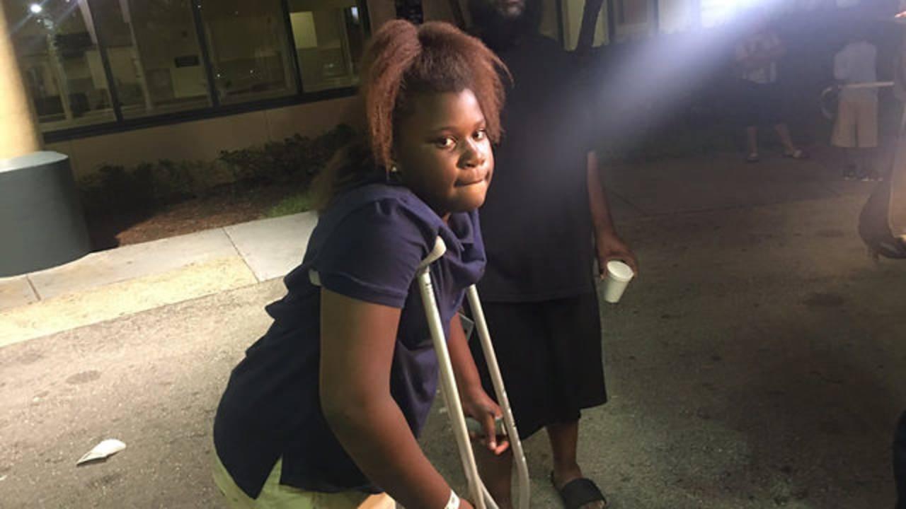 Jonasia Hamilton hurt in Fort Lauderdale bus crash