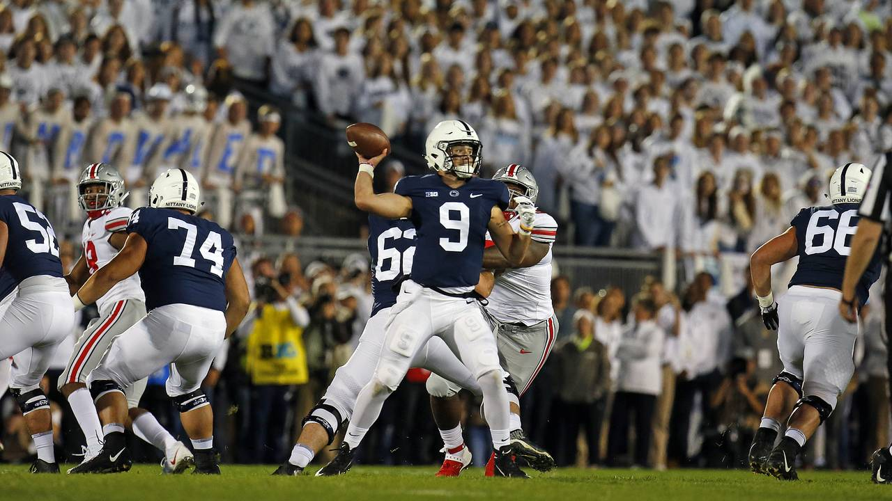 Trace McSorley Penn State football vs Ohio State 2018