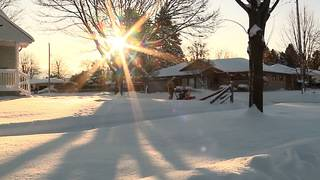 Snow comes to the South along with frigid temperatures