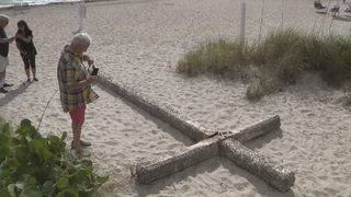 Mystery continues to surround cross found on Fort Lauderdale beach