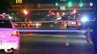 1 killed, 3 injured when car hits fence, flips on Westside