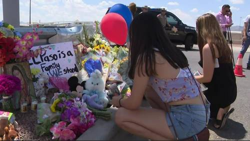 El Paso remembers victims as memorial at scene continues to grow