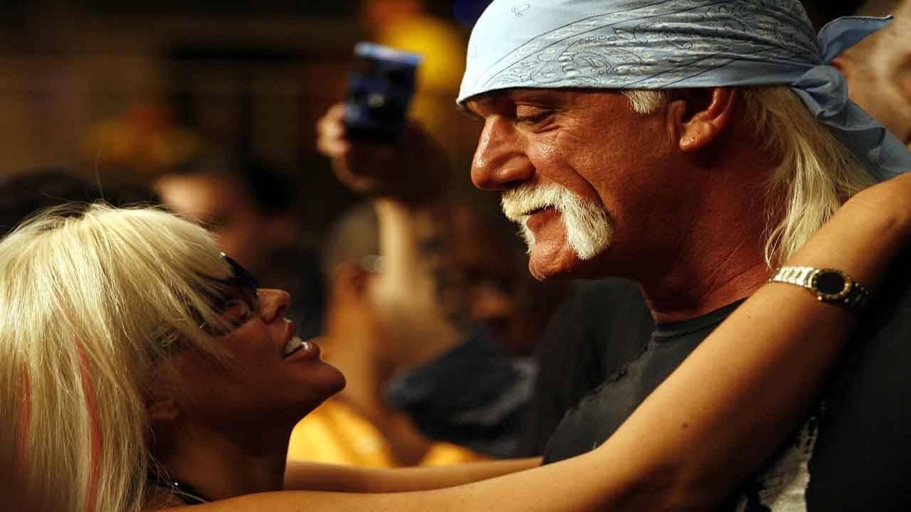 Anna Nicole Smith and Hulk Hogan at Seminole Hard Rock, Jan. 6, 2007