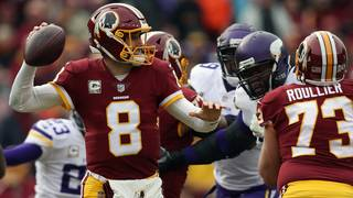 Kirk Cousins signs with Minnesota Vikings