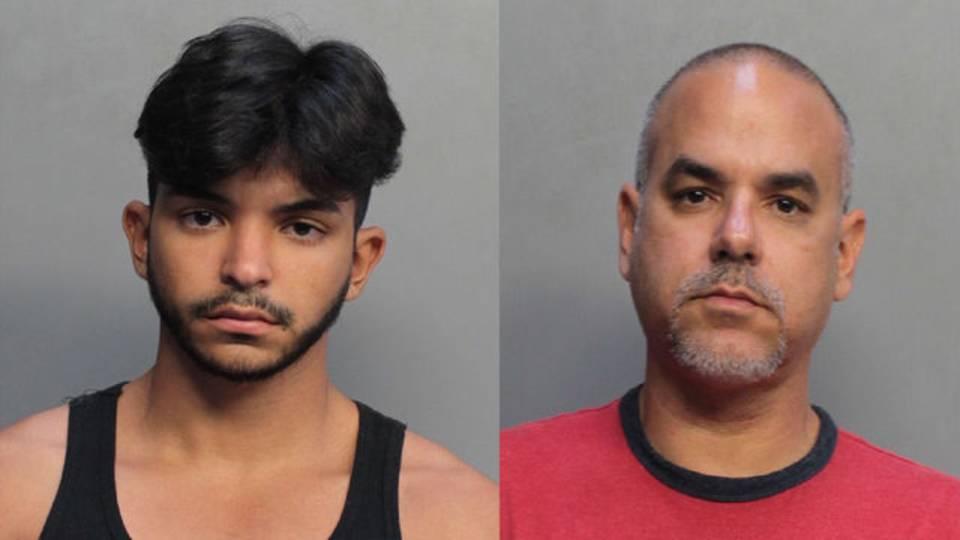 Edward and Eduardo Perez mugshots