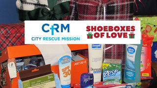 Donate Shoeboxes of Love to help Jacksonville's homeless
