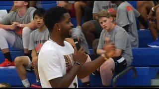 "Troy Daniels hosts second annual ""Dream Big"" basketball camp"