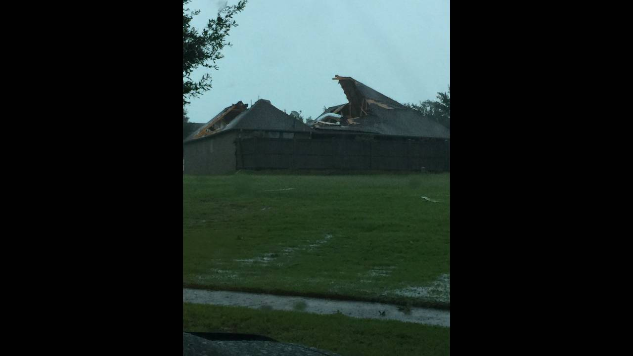 Bryan tornado damage