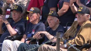 Honor flight to Arlington National Cemetery pays tribute to WWII veterans