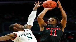 Hurricanes fall short against No. 18 NC State in ACC opener