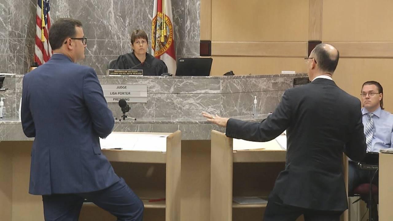 Attorneys argue Richard Patterson penis defense in front of Judge Lisa Porter