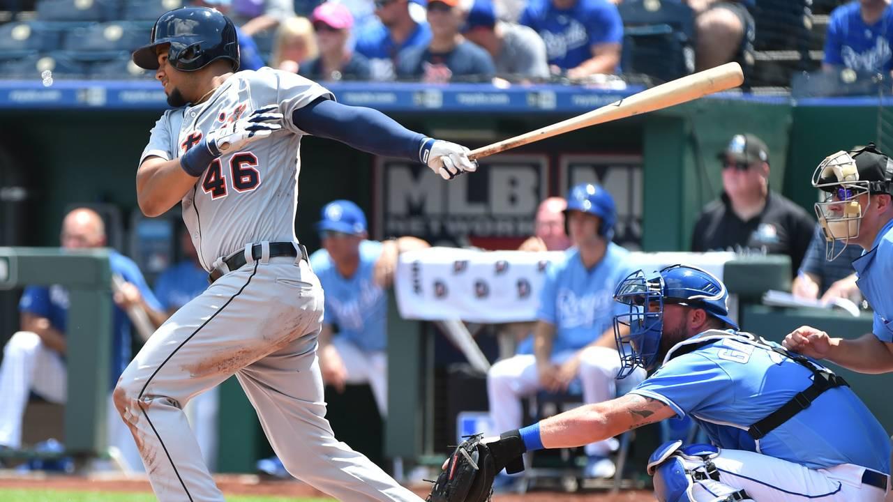 Jeimer Candelario Detroit Tigers vs Royals 2019