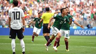 Hirving Lozano the hero as Mexico stuns Germany