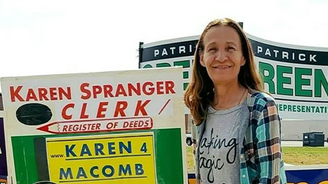 Macomb County Clerk Karen Spranger