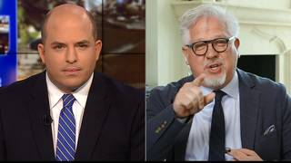 Glenn Beck walks off CNN interview
