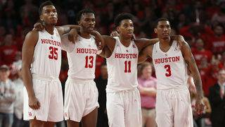 Brooks, Davis help No. 12 Houston beat SMU 90-79
