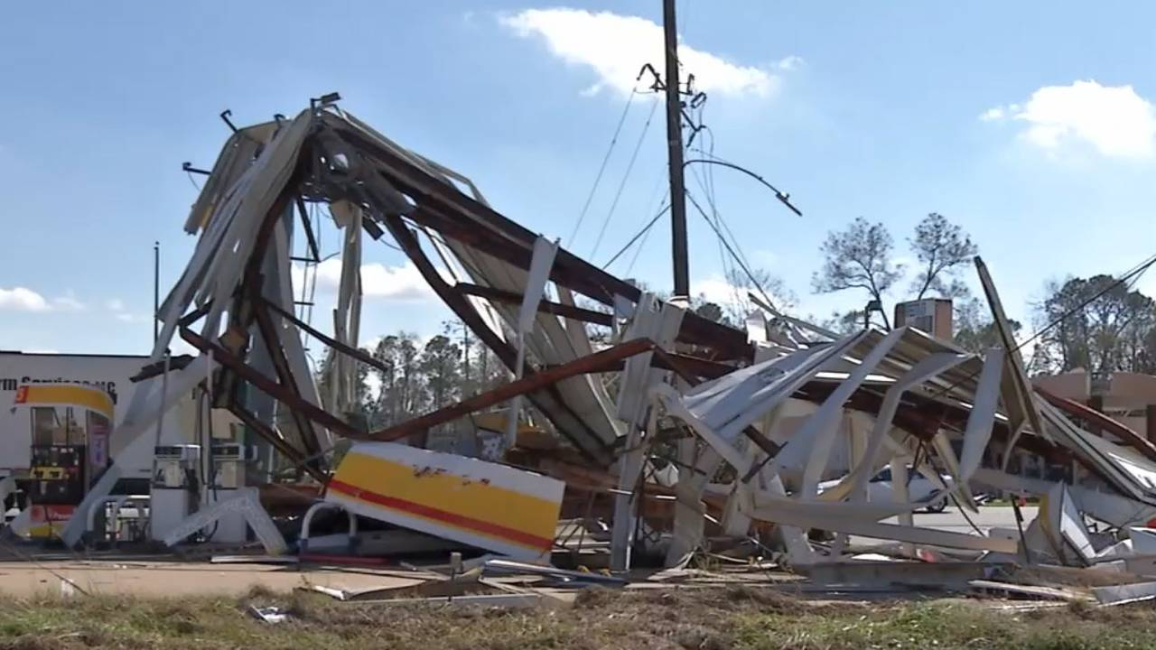 10-11-18 Seminole County, Georgia, damage Hurricane Michael 3