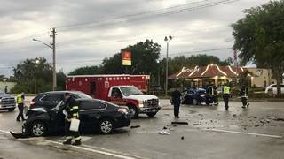 2 transported after Garden Street wreck in Titusville