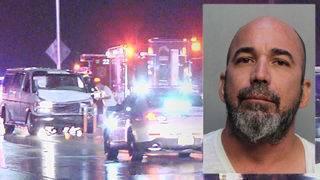 Van driver arrested after 4 killed, 2 seriously hurt in crash on I-95