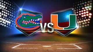 Hurricanes salvage finale against No. 1 Gators 2-0