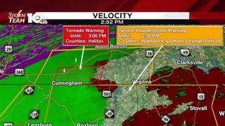 Tornado Warning expires for parts of Halifax County