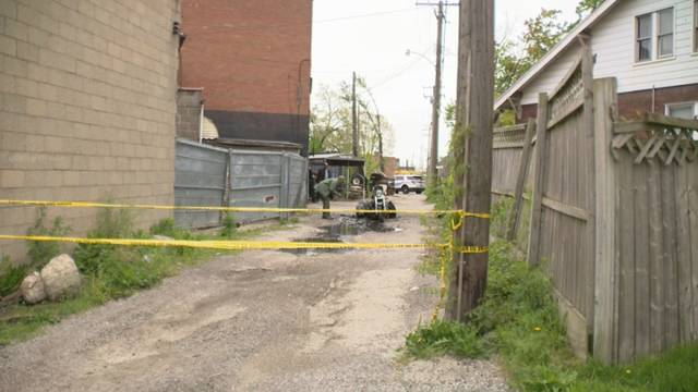 Detroit biker fatally shot motorcycle torched