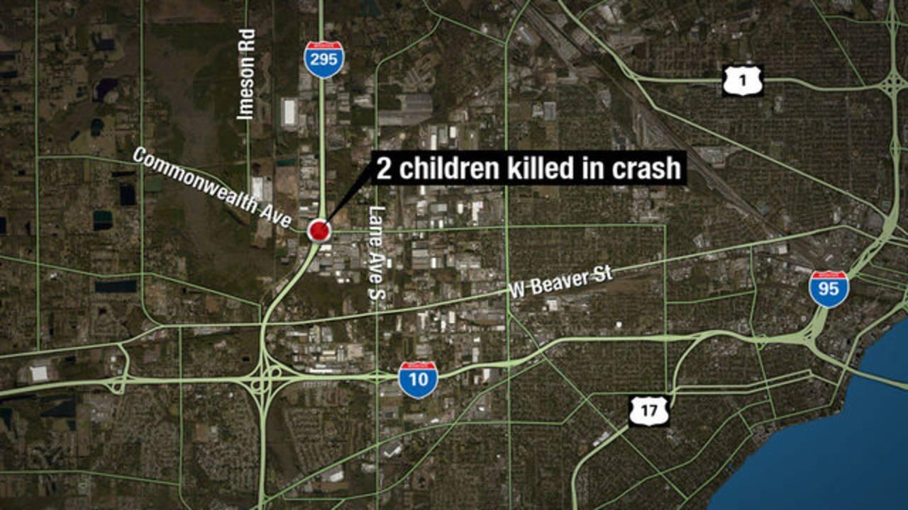 Map Of Florida Highways.2 Children Killed 2 Seriously Hurt In Crash On I 295 Near