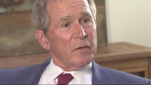 Former President George W. Bush takes center stage at literacy event