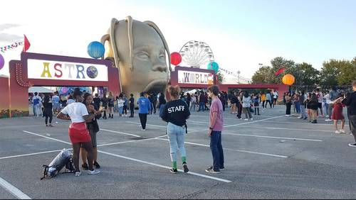 Thousands attend debut of Travis Scott's Astroworld Festival