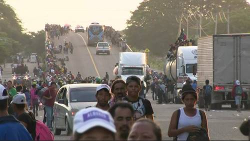 What you should know about the migrant caravan headed to US border