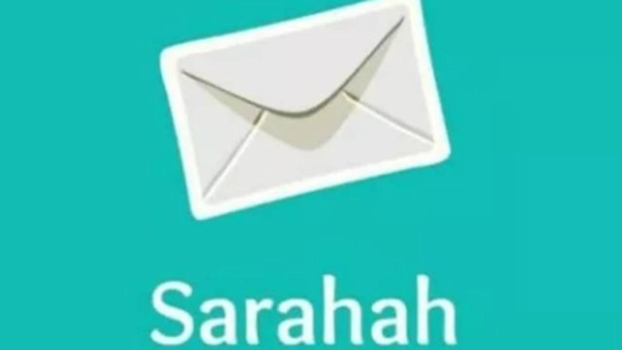 Sarahah app image