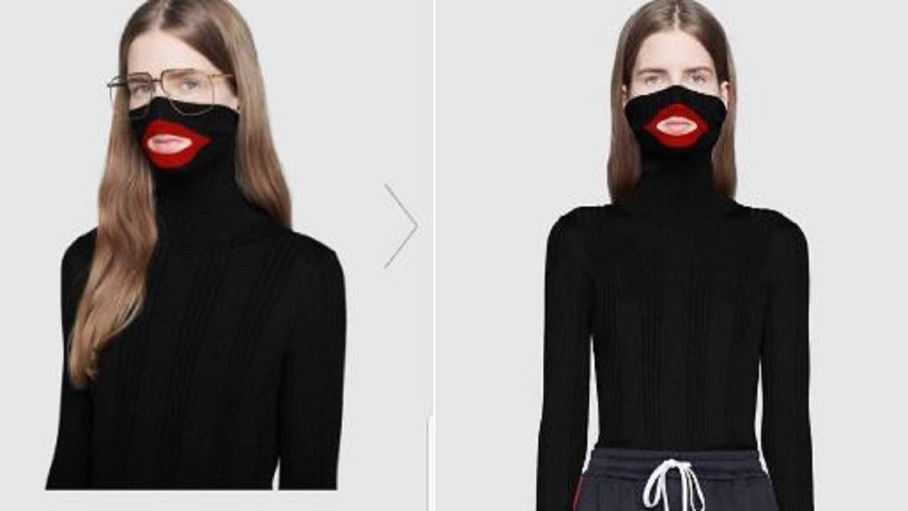 487dee98b00 Gucci slammed for sweater some say resembles blackface