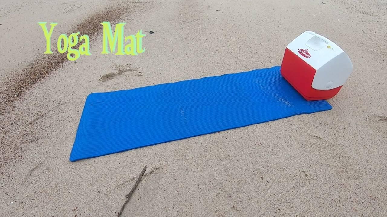 amy beach hacks - yoga mat