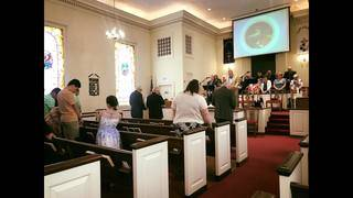 Congregation resumes Sunday service for first time since tornado