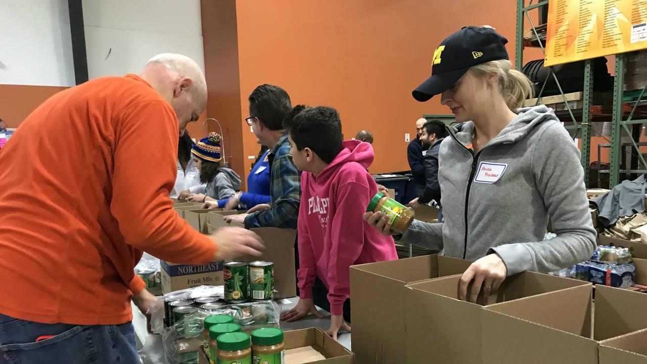 Volunteers at Food Gatherers