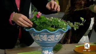 Create your own spring centerpiece at home