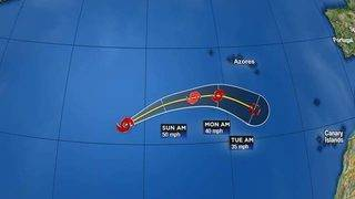 Joyce Moving Eastward With No Change in Strength
