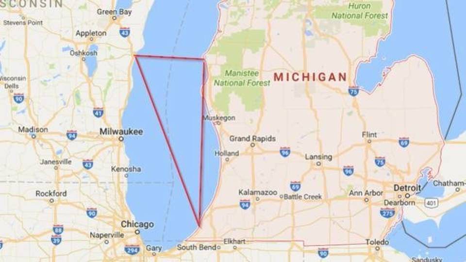 The Bermuda Triangle of the Great Lakes: The Lake Michigan...