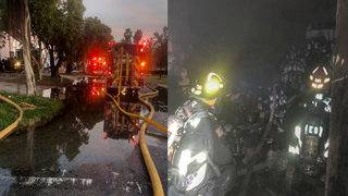 Firefighters extinguish blaze at Hialeah business