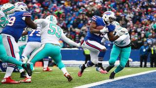 McCoy breaks 10,000, leads Bills to 24-16 win over Dolphins