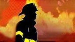 Crews work to put out home fire, Danville FD says