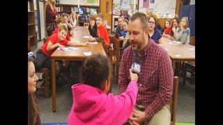 Local students get their first chance to be on 10 News during career day