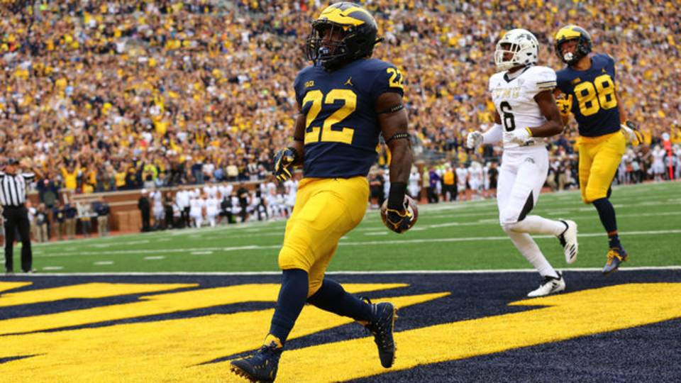 michigan football senior day which players still have