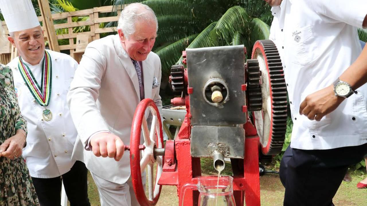 Cuba Prince Charles Habanera