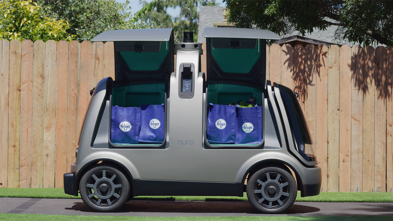 Kroger Self-driving car 4-16-19