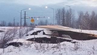 Alaska quake causes extensive damage