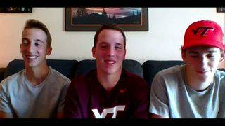 Triplets going to Virginia Tech, sharing room, majoring in engineering