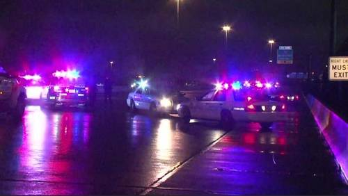 Woman hit, killed by vehicle on Eastex Freeway near GRB