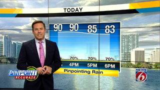 News 6 Afternoon Forecast for August 16th